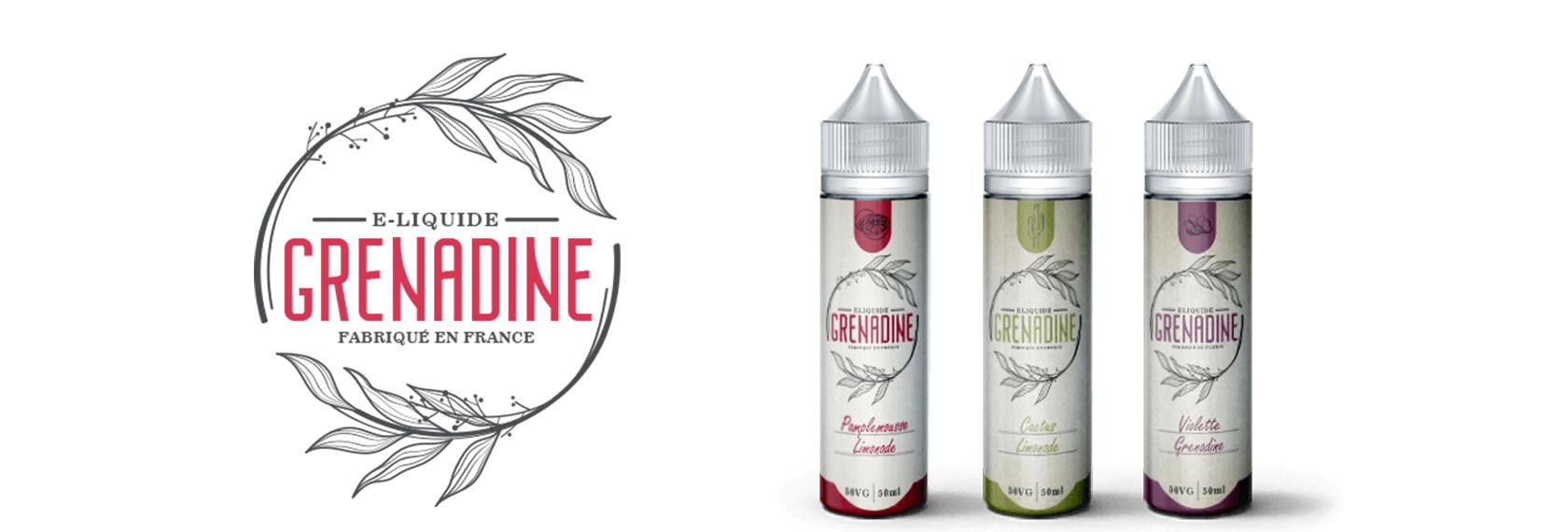 E-liquide 50ML parfum GRENADINE